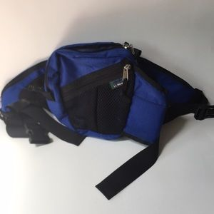 LL Bean hiking fanny pack bag waist adjust water